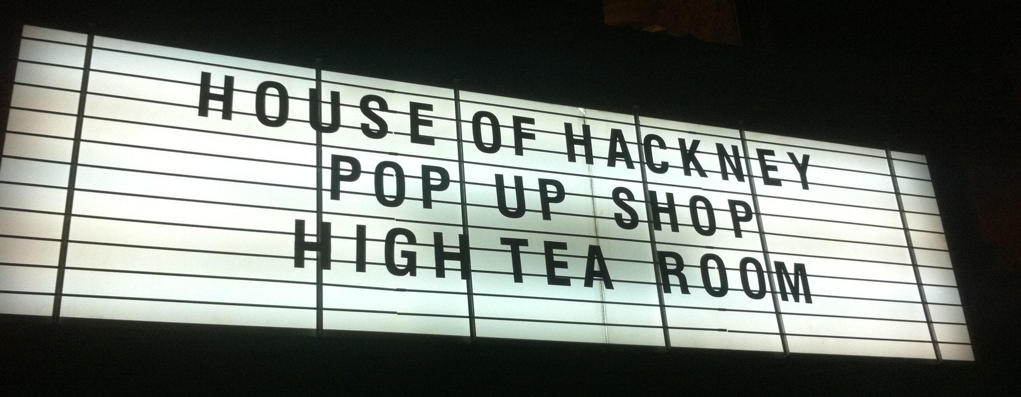 House Of Hackney Pop Up Shop Hosted At Our New Dalston Location