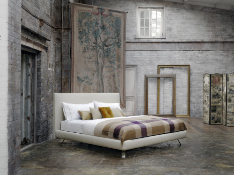 Savoir Beds Campaign Shot at Church Walk Studios Castle